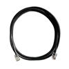 7Ft. CAT5e Black Ethernet Patch Cable - NON-BOOTED