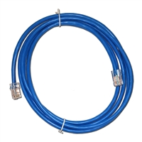 7Ft. CAT5e Blue Ethernet Patch Cable - NON-BOOTED