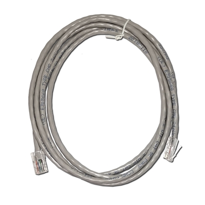 7Ft. CAT5e Gray Ethernet Patch Cable - NON-BOOTED