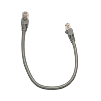1 Ft. Cat6 Gray Ethernet Patch Cable