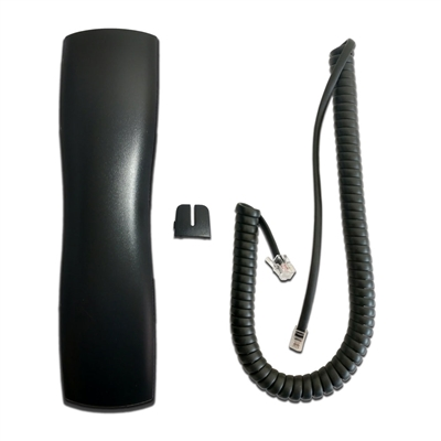 "NEC Aspire Handset with Curly Cord Cover ""Port Tab"" & 9Ft Curly Cord"
