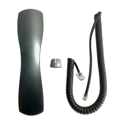 "NEC DTH & DTR Series Handset with Curly Cord Cover ""Port Tab"" & 9Ft Curly Cord"
