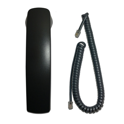 Vertical SBX 320/IP7000/Edge 4000 Series Handset with 9Ft Curly Cord