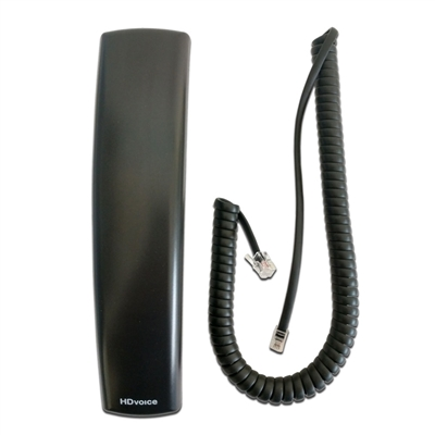 Polycom VVXHD Handset with 9Ft Curly Cord